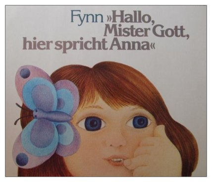 Hallo Mr. Gott, hier spricht Anna